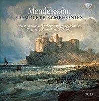 メンデルスゾーン:交響曲全集、弦楽のための交響曲全集(7枚組)