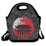 日本の神社 保冷 弁当袋 ランチバッグ トートバッグ ウトドア 防水 伸縮性 ファスナー付き 折りたたみ式 通勤 学校に適用