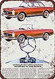 1964年メルセデス・ベンツ230SL Vintage Look Reproduction Metal Signs 12x 16インチ