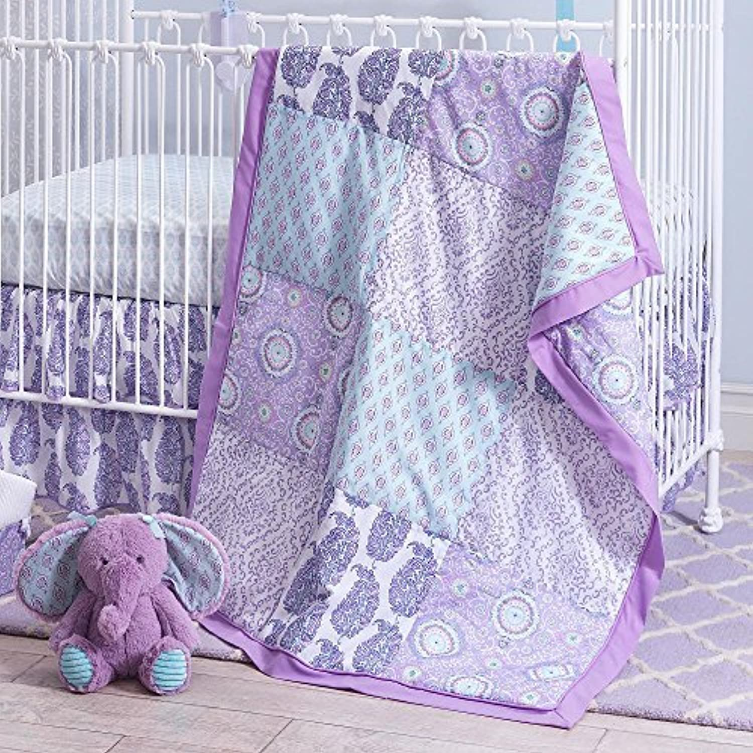 Olivia 4 Piece Baby Crib Bedding Sets [並行輸入品]