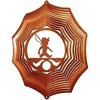 Fisher Boy Web Swirly Metal Wind Spinner 2612