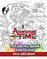 Adventure Time Coloring Book for Kids: Coloring All Your Favorite Adventure Time Characters