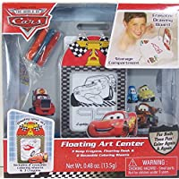 Disney Cars Bath Tub Floating Art Center (3 Crayons, Floating Desk, 2 Reusable Coloring Sheets) by MZB [並行輸入品]