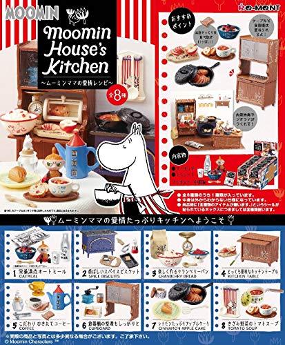 リーメント ムーミン House's Kitchen ~ムーミンママの愛情レシピ~ BOX商品 1BOX=8個入り、全8種類