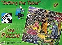 設定のテーブル教育ストーリーパズル( 196ピースジグソーパズル)