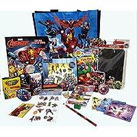 Avengersカラーリングアクティビティ&トイバンドルステッカーCrayolaクレヨン黒板Tattoosメモ帳鉛筆消しゴムパズルCrazyテープ& More 18 pc旅行誕生日クリスマスGet Well