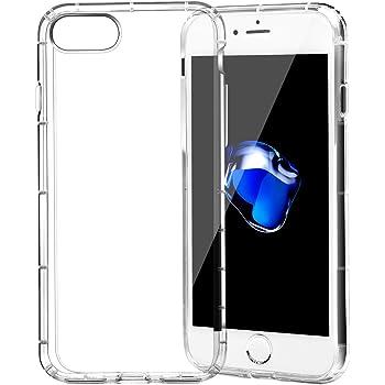 f1aa70b450 Amazon | TC JOY iPhone 7/7plus用 TPUクリア上質透明ケース 保護カバー ...