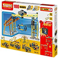Engino 100 Model Construction Set with 2 RC Motors and Gears [並行輸入品]
