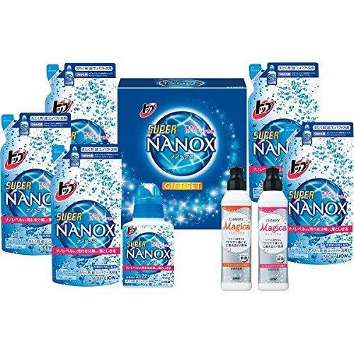 ギフト ライオン トップ ナノックス ギフトセット 液体洗剤...