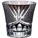 NARUMI(ナルミ) グラス グラスワークス スワール 黒 280cc ロックグラス GW6053-223BK