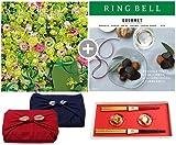 CONCENT・リンベル RING BELL カタログギフト カシオペア&フォナックス+箔一金箔箸セット