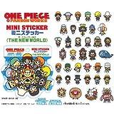ONE PIECE × PANSON WORKS ミニステッカー ザ・ニューワールド BOX