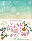 NIV, Beautiful Word Bible for Girls: 500 Full-Color Illustrated Verses (English Edition) 画像