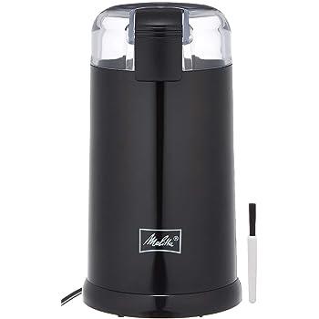 Melitta(メリタ) 電動 コーヒーミル ブラック ECG62-1B