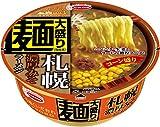 エースコック ご当地くいだおれ 麺大盛り 札幌濃厚みそラーメン コーン盛り 137g×12個