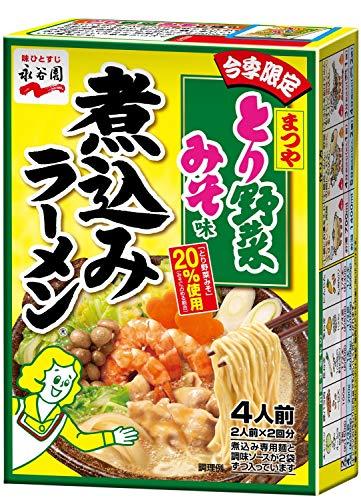 永谷園 煮込みラーメン とり野菜みそ味 2人前×2回分×3箱
