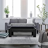 Lift Up Coffee Table,Wooden,Black