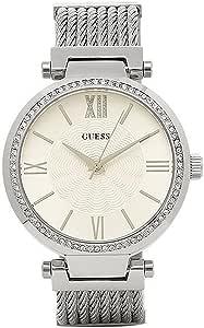 [ゲス] 腕時計 レディース GUESS W0638L1 シルバー [並行輸入品]