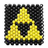 Tri Force Zelda Nuclear Radioactive Kandi Cuff by Kandi Gear