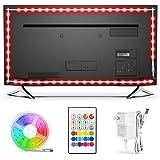 BASON USB LED TV Backlight Kit for 42 to 50 Inches, Bias Lighting LED Strip for Back of Tv Lighting Home Movie Theater Decor