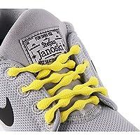 CATERPYRUN (キャタピラン) 結ばない靴紐 50cm レモンイエロー N50-7LY