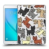 Head Case Designs ケアン・テリア ドッグブリード・パターンズ6 Samsung Galaxy Tab A 9.7 専用ソフトジェルケース