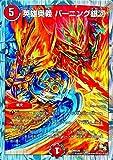 デュエルマスターズ DMD20-7 英雄奥義 バーニング銀河 (限定)【ドラゴンサーガ スーパーVデッキ 勝利の将龍剣ガイオウバーン 収録】DMD20-007