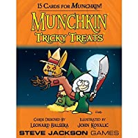 Munchkin: Tricky Treats Cards (15 cards) [Floral] [並行輸入品]