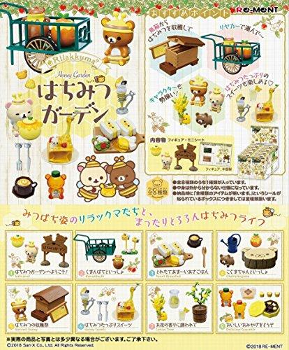 Re-ment Rilakkuma Honey Garden 1 BOX 8 pcs. japan