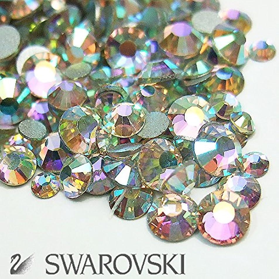 色合いわがまま滑るスワロフスキー(Swarovski) クリスタライズ ラインストーン ネイルサイズMIX (80粒) クリスタルAB