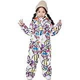 雪遊びスキーウェア キッズ用 スノーボードウェア ジャンプスーツ つなぎ式スキースーツ トイレにも大丈夫 男の子 女の子 90cm/100cm/110cm/120cm