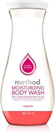 Method Moisturising Body Wash, Magnolia, 532 ml