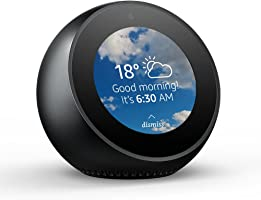 Amazon Echo Spot, Smart speaker and screen with Alexa - Black