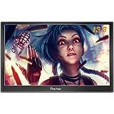 Prechen,Portable HDMI Monitor 13.3 inch 1920x1080HDMI VGA Gaming Monitor for PS3 PS4 WiiU Xbox360 Raspberry Pi 3 2 1 Windows