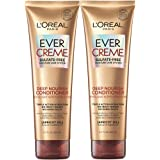L'Oréal Paris Hair Care EverCreme Sulfate Free Moisturizing Deep Nourish Conditioner with Apricot Oil for Dry Hair, 8.5 Fl. O