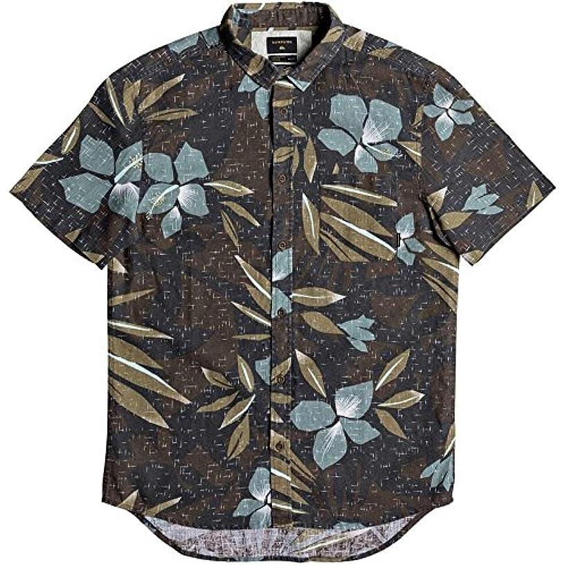 なめる簡単に腕(クイックシルバー) Quiksilver メンズ トップス 半袖シャツ Linen Print Shirts [並行輸入品]