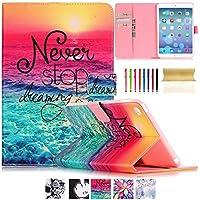 iPad Air 2/ iPad 6ケース, uucovers ( TM )超スリムperfect-fitファッション財布型カバー[スタンド機能] [自動スリープ/スリープ解除]保護ケースfor Apple iPad Air 2/ iPad 6 9.7 Inch