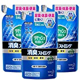【Amazon.co.jp 限定】【まとめ買い】リセッシュ 除菌EX 消臭ストロング 消臭芳香剤 液体 消臭スプレー 布用 空間消臭用 詰め替え 320ml × 3個