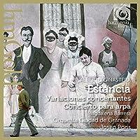 Ginastera: Estancia, Variaciones concertantes, Concierto para arpa by Orquesta Ciudad de Granada