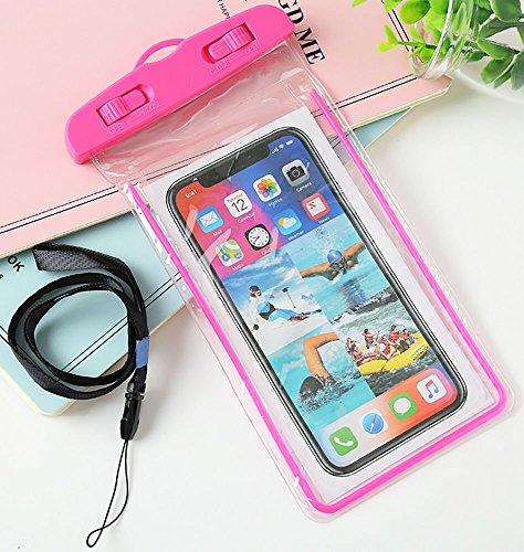 hortensia 防水ケース ピンク 携帯ケース ipho...