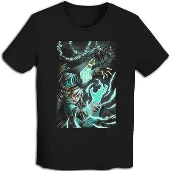 プリント 半袖シャツ メンズ T-Shirt Zelda-ゼルダの伝说 Tシャツ White
