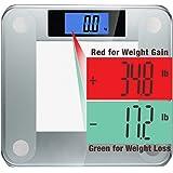 Ozeri Precision II 200 kgs (440 lbs) Bath Scale with 50 gram Sensor Technology (0.05 kg / 0.1 lbs) & Weight Change Detection