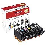 Canon インクタンクBCI-326 (BK/C/M/Y/GY) + BCI-325 マルチパック BCI-326+3…