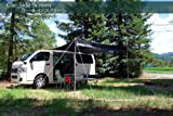 BRAHMS カーサイドスクリーン ワゴン車/ミニバン 汎用 簡易(サイドテント)