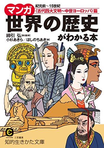 【第11位(同率)】三笠書房『マンガ 世界の歴史がわかる本』