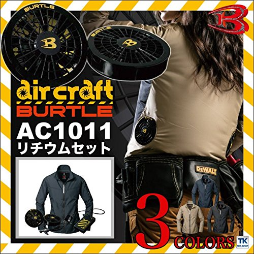 バートル(BURTLE)【空調服+ファンac110+バッテリーac100】 bt-ac1011-l ブラック M