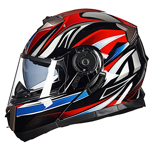 TJC Justfit フリップアップヘルメット バイクヘルメット システムヘルメット Justfit-075 B07MHBKPCZ 1枚目