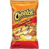 Cheetos Flamin Hot Crunchy Snacks - Cheese Flavoured, 226.8g