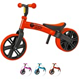 Yvolution Y Velo Junior Toddler Bike   No-Pedal Balance Bike   Ages 18 Months to 4 Years(Red)