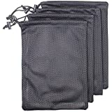 Md Trade Heavy Duty Nylon Mesh Equipment Ditty Bags with Drawstrings Storage Bag for Travel & Outdoor Activity